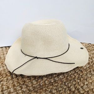 NEW Peter Grimm True Character Straw Beach Hat O/S